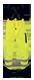 Balisage classe B microprisme jaune/bleu